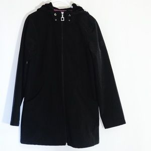 Woman's ZeroXposur Black  Jacket With Hood Small